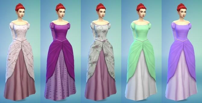 Ariel Dress At My Stuff 187 Sims 4 Updates