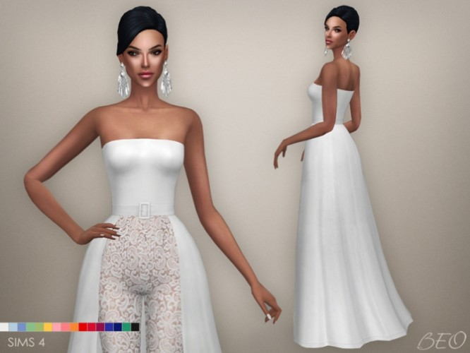 Wedding Dresses Under 500: Beo Creations » Sims 4 Updates » Best TS4 CC Downloads
