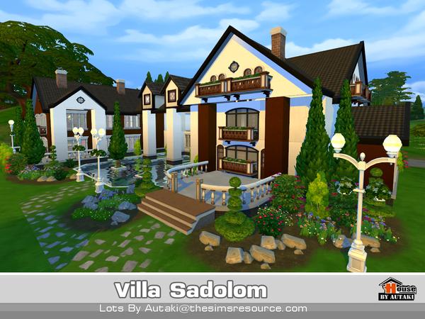 Villa Sadolom by autaki at TSR image 30 Sims 4 Updates