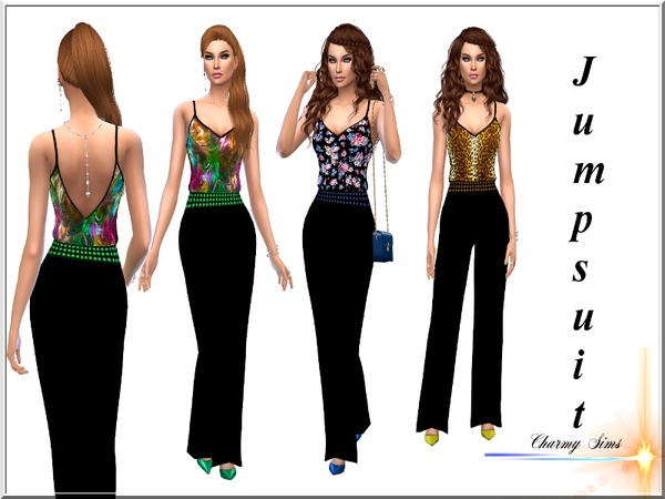 Sims 4 Jumpsuit Collection by Charmy Sims Portfolio at TSR