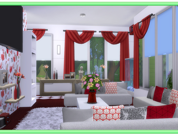 Green Acres house by lenabubbles82 at TSR image 3022 Sims 4 Updates