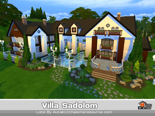Villa Sadolom by autaki at TSR image 31 Sims 4 Updates