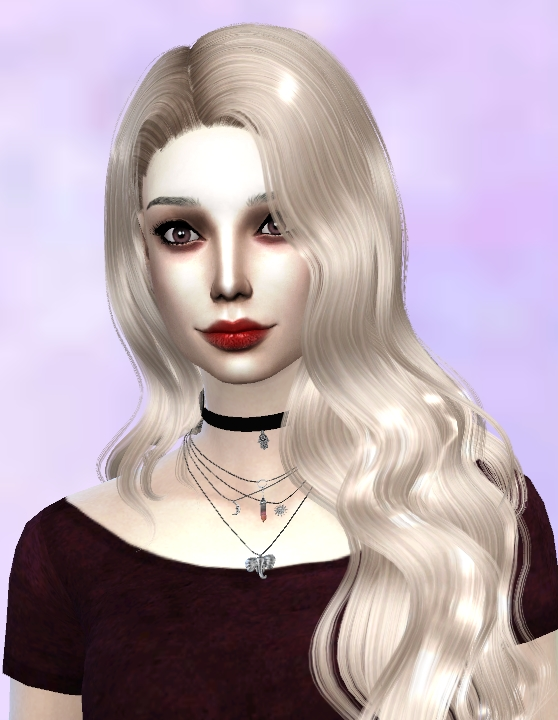 Sims 4 Alice Rosario Vampire Girl by JojoNono 17 at Mod The Sims