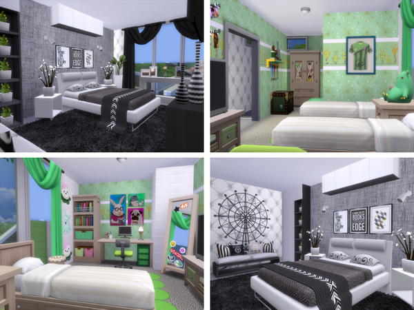 Green Acres house by lenabubbles82 at TSR image 3126 Sims 4 Updates