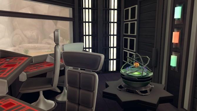 Sims 4 Voltron spaceship house at Akai Sims