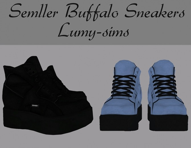 Sims 4 Semller Buffalo Sneakers at Lumy Sims