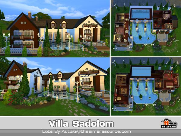 Villa Sadolom by autaki at TSR image 33 Sims 4 Updates