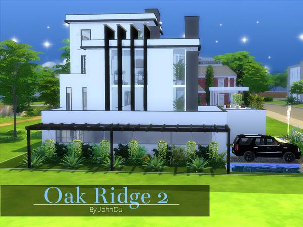 Sims 4 Oak Ridge 2 house by johnDu at TSR