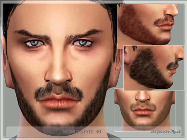 Sims 4 Beard Style 30 by Serpentrogue at TSR