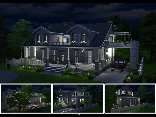 Country Ivy home by mlpermalino at TSR image 3419 Sims 4 Updates