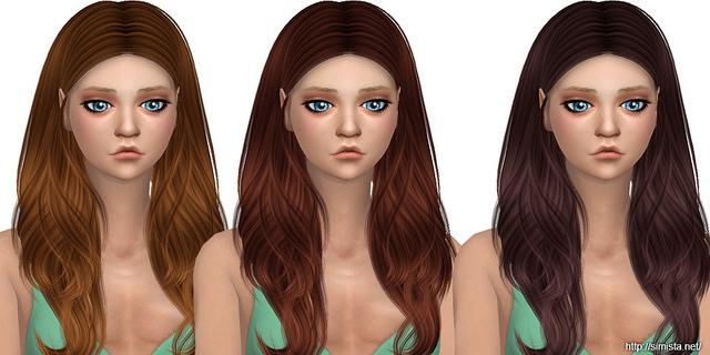 Viola Hair Retexture at Simista image 348 Sims 4 Updates