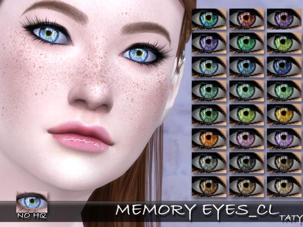 Sims 4 Memory Eyes CL by tatygagg at TSR