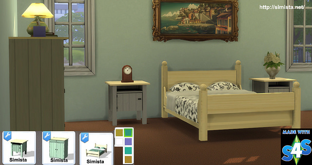 Sims 4 Country Cottage Collection at Simista
