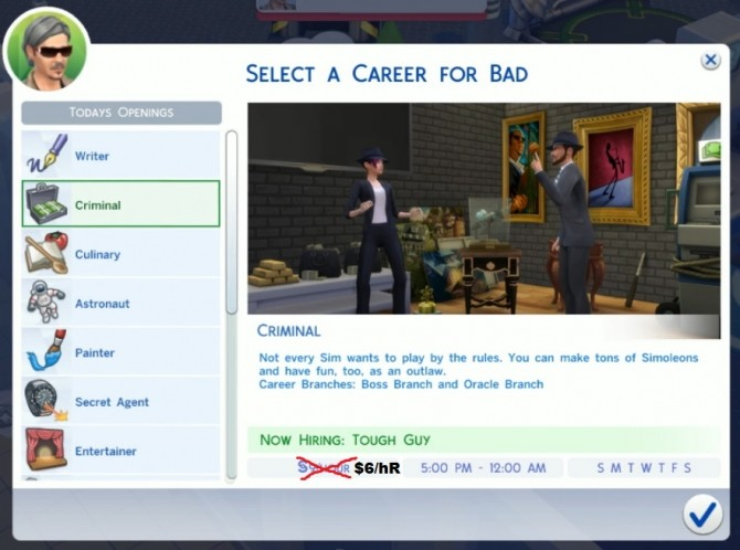 Sims 4 Realistic Salaries (Lower Career Salaries) by Wizirdi at Mod The Sims