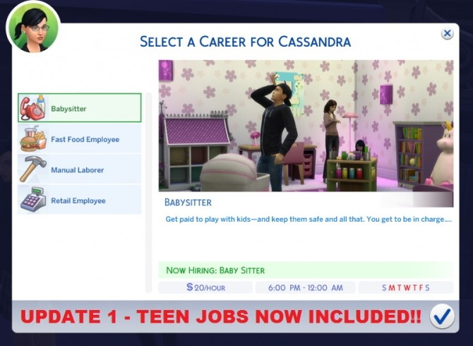 Realistic Salaries (Lower Career Salaries) by Wizirdi at Mod The Sims » Sims 4 Updates