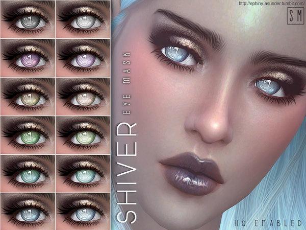 Sims 4 Shiver Eye Mask by Screaming Mustard at TSR