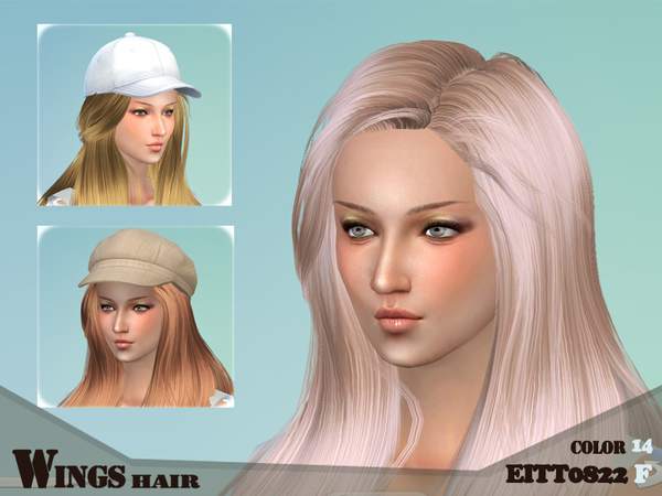 Sims 4 HAIR EITTO822 F by wingssims at TSR