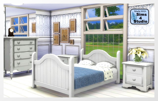 Perfectly bedroom by Oldbox at All 4 Sims image 4022 Sims 4 Updates