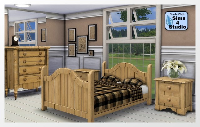 Perfectly bedroom by Oldbox at All 4 Sims image 4032 Sims 4 Updates