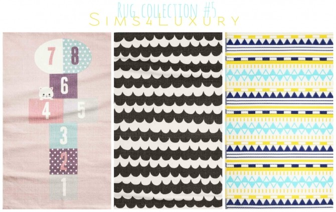 Rug collection #5 at Sims4 Luxury image 409 670x424 Sims 4 Updates