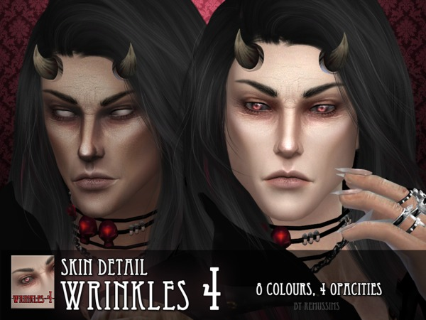 Wrinkles 4 for males by RemusSirion at TSR image 4104 Sims 4 Updates