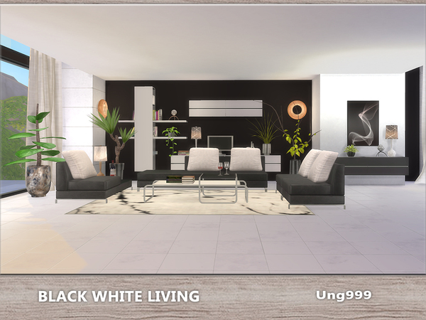 Sims 4 living room downloads sims 4 updates page 2 of 54 for Modern living room sims 4
