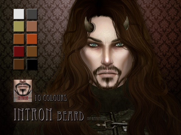 Sims 4 Intron beard by RemusSirion at TSR