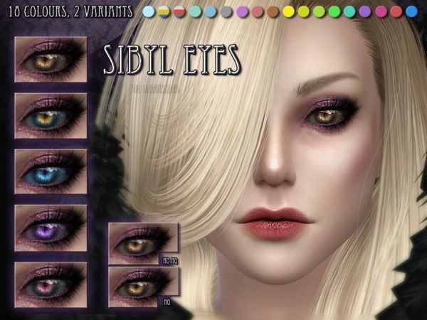 Sibyl Eyes by RemusSirion at TSR image 4218 Sims 4 Updates