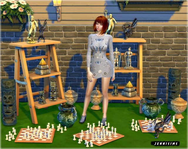 Sims 4 Decoratives Vol 27 (10 items) at Jenni Sims