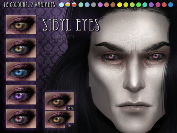Sims 4 Sibyl Eyes by RemusSirion at TSR