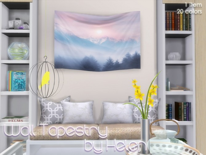 Sims 4 Bedroom Wall Decor