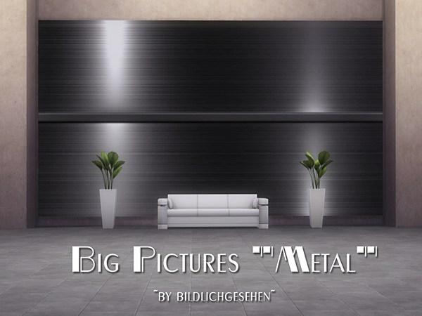 Metal Big Pictures by Bildlichgesehen at Akisima image 459 Sims 4 Updates