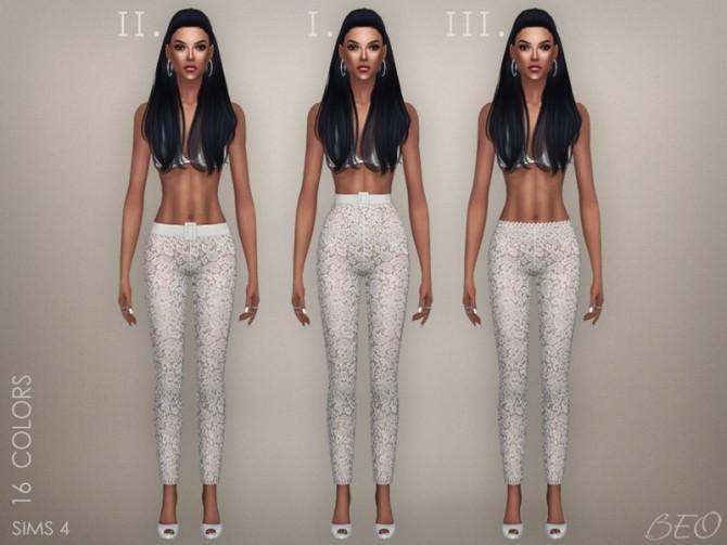 Sims 4 SERENA pants at BEO Creations