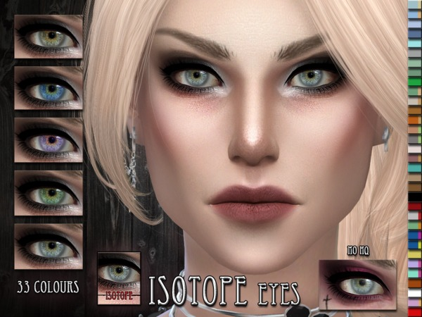 Isotope Eyes by RemusSirion at TSR image 5100 Sims 4 Updates