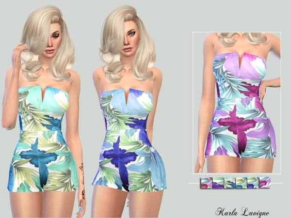 Polina Jumpsuit by Karla Lavigne at TSR image 5105 Sims 4 Updates
