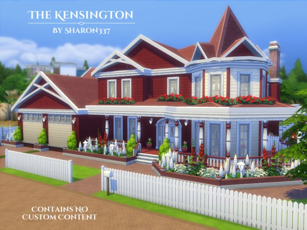 The Kensington house by sharon337 at TSR image 5210 Sims 4 Updates