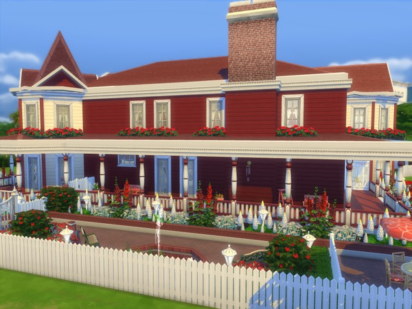 The Kensington house by sharon337 at TSR image 5310 Sims 4 Updates