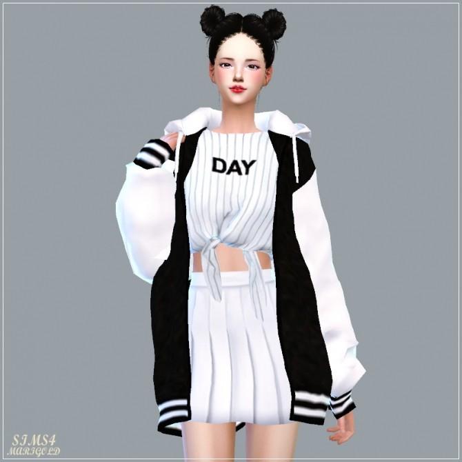 ACC Loosefit Hood Jacket Long version at Marigold image 5441 670x670 Sims 4 Updates