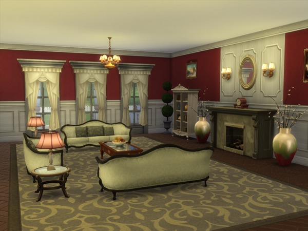 The Kensington house by sharon337 at TSR image 5510 Sims 4 Updates