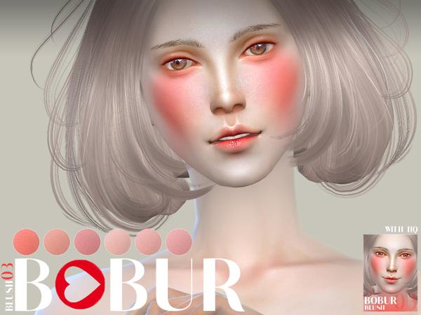Blush 03 by Bobur3 at TSR image 5613 Sims 4 Updates