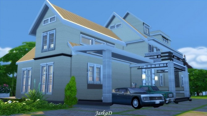 Family House No.12 at JarkaD Sims 4 Blog image 571 670x377 Sims 4 Updates