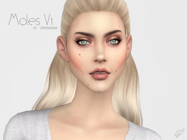 Sims 4 Moles V1 by Ms Blue at TSR