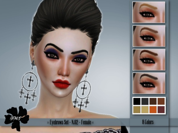IMF Eyebrows Set N.02 F by IzzieMcFire at TSR image 577 Sims 4 Updates
