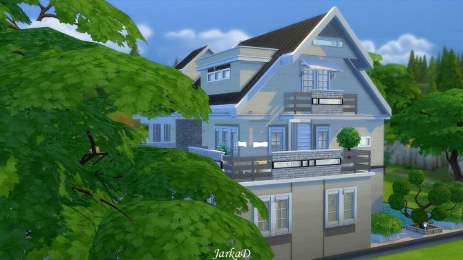 Family House No.12 at JarkaD Sims 4 Blog image 581 670x377 Sims 4 Updates