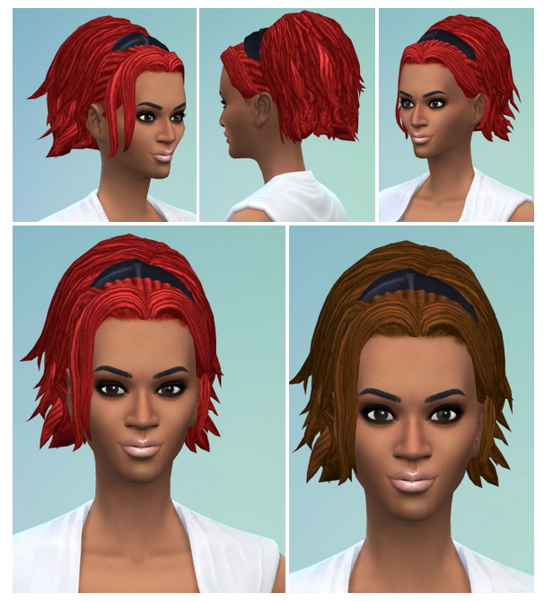 Sims 4 Doro Dreads at Birksches Sims Blog