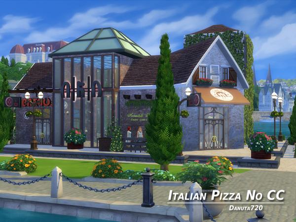 Italian Pizza Restaurant By Danuta720 At TSR Sims 4 Updates