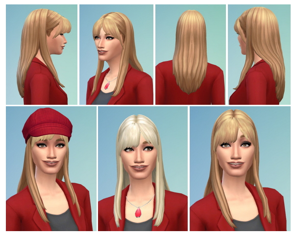Sims 4 Francoise Hairstyle at Birksches Sims Blog