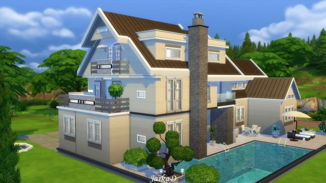 Family House No.12 at JarkaD Sims 4 Blog image 591 670x377 Sims 4 Updates