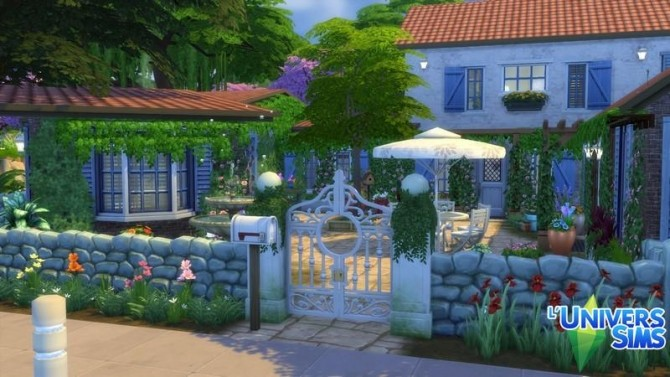 Sims 4 LAmandine house by chipie cyrano at L'UniverSims
