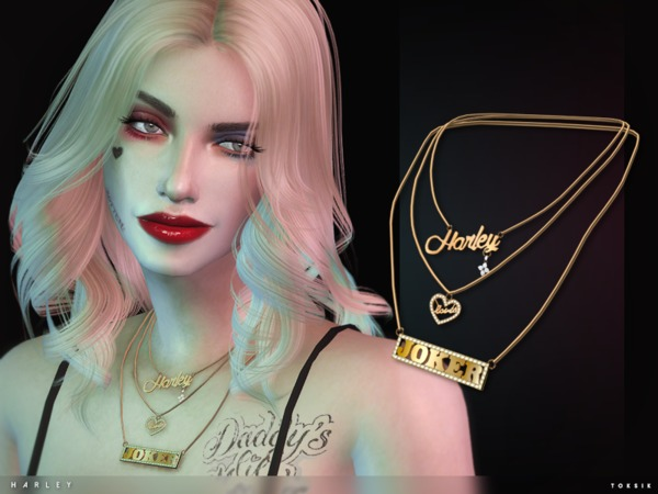 Sims 4 Harley Necklace by toksik at TSR